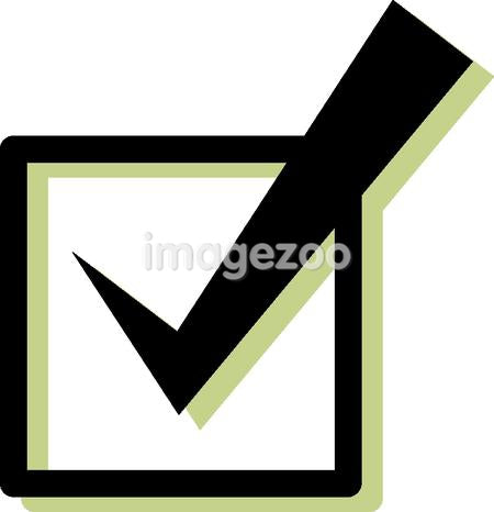 Illustration of a checkmark
