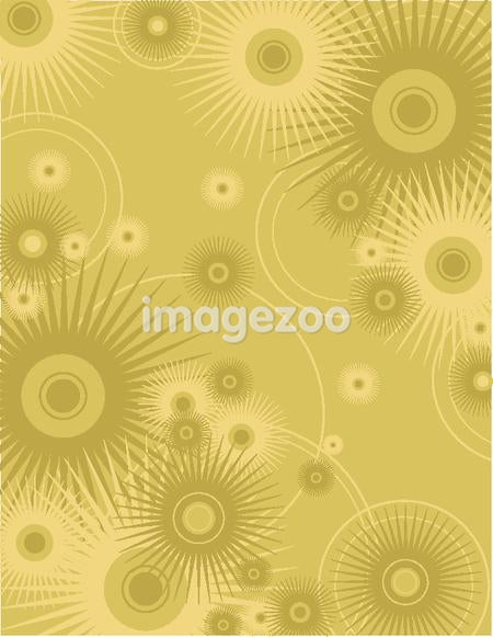 A mustard yellow background
