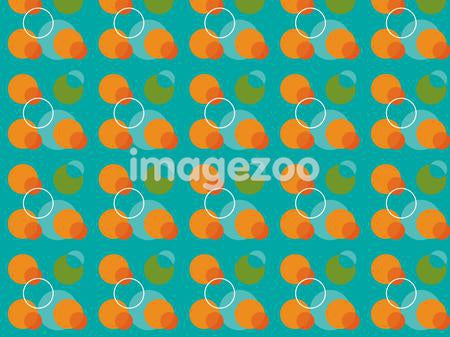 A pattern created through circular shapes