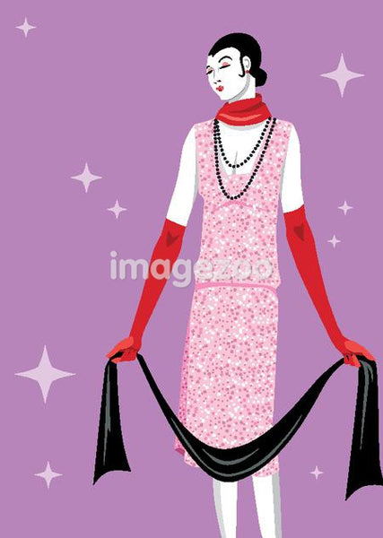An illustration of a flapper