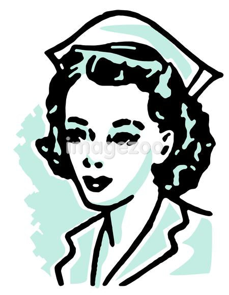 An illustration of a nurse