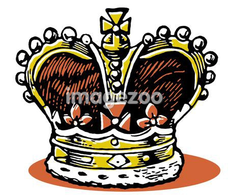 An illustration of a crown