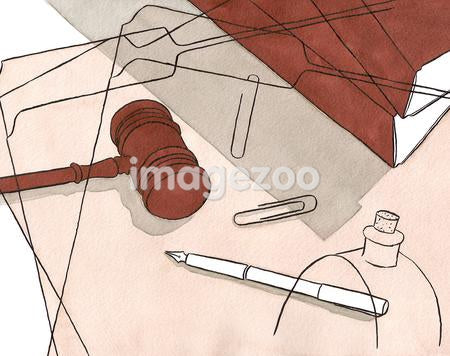 Still life of a lawyers tools