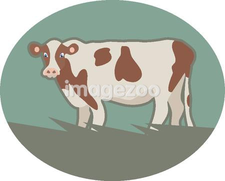Illustration of a cow