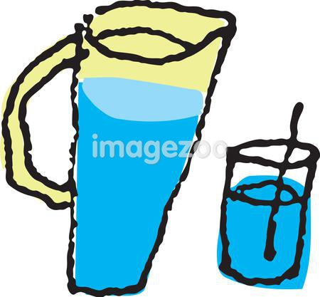 A jug and glass of water