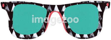 Sunglasses against white background