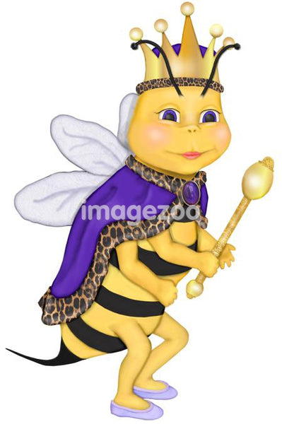 An illustration of a Queen Bee