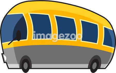 Illustration of a yellow bus