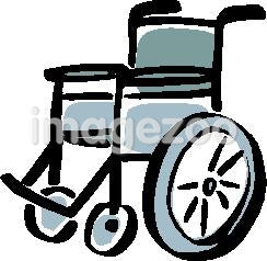 A picture of a wheelchair