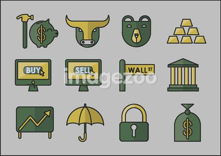 wall street icons