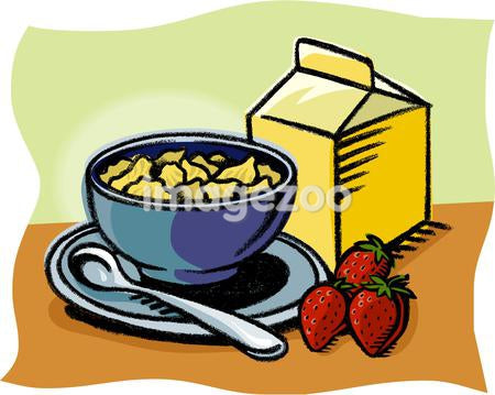 A bowl of cereals