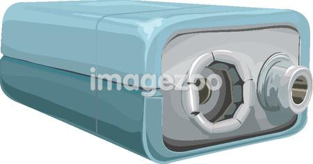 Illustration of a battery