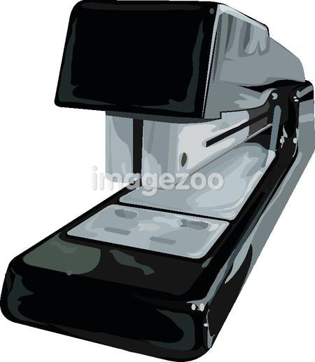 Illustration of a stapler