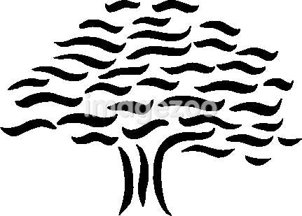 Drawing of a wave tree
