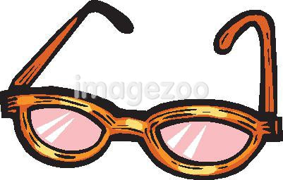 pair of rose colored glasses