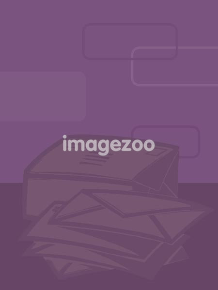 Illustration of a stack of mail