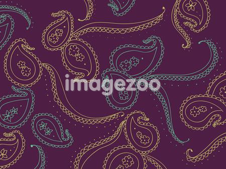 A decorative paisley pattern