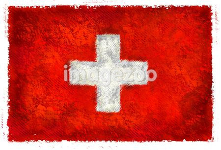 Drawing of the flag of Switzerland