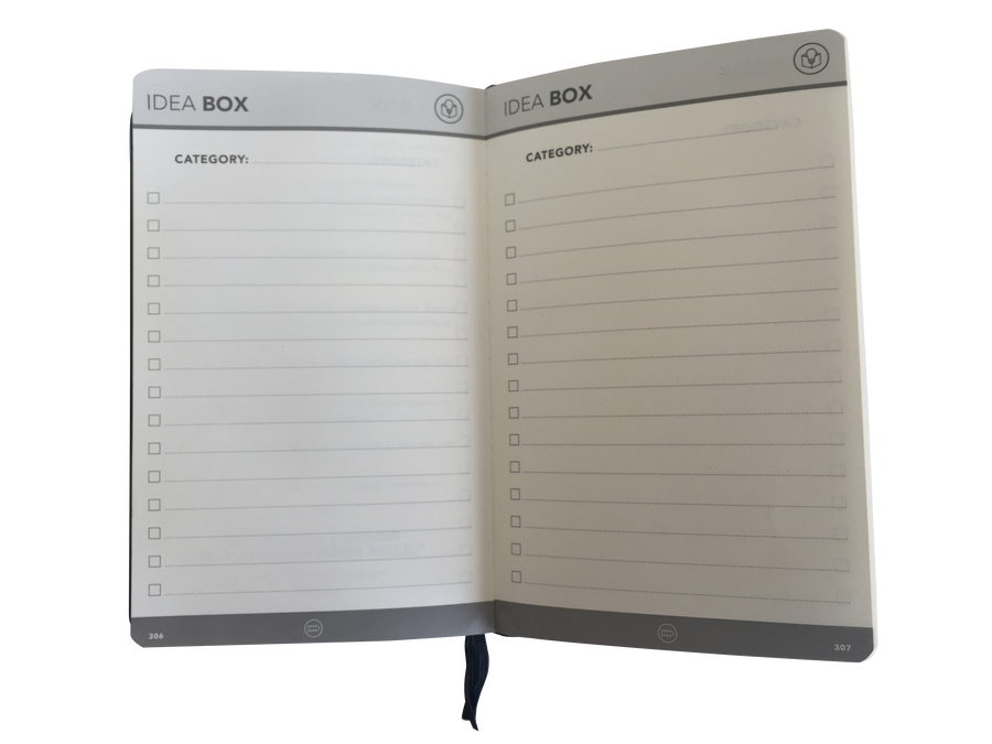 *LIMITED TIME* Annual Pack : 4 x Rich Cognac Planner (1 Year)