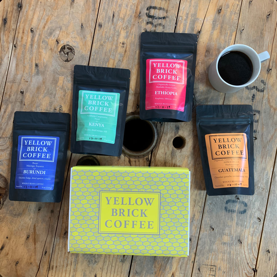 Yellow Brick Box - A Variety Pack