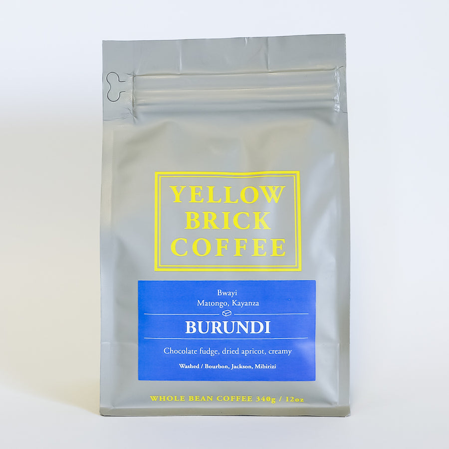 Burundi: Bwayi [Notes: Chocolate fudge, dried apricot, creamy]