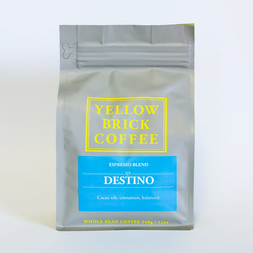 DESTINO: Espresso Blend [Notes: Cacao nib, cinnamon, balanced]