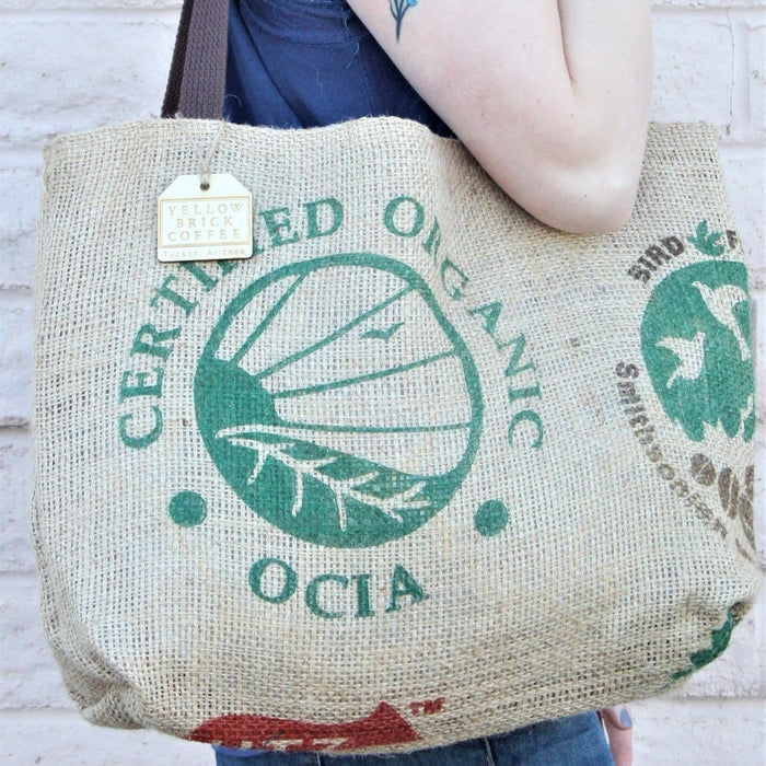 "Coffee Tote - ""Organic & Bird Friendly"""