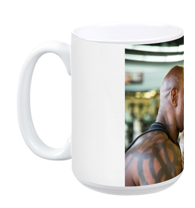 Flex Wheeler & Dennis James Mug