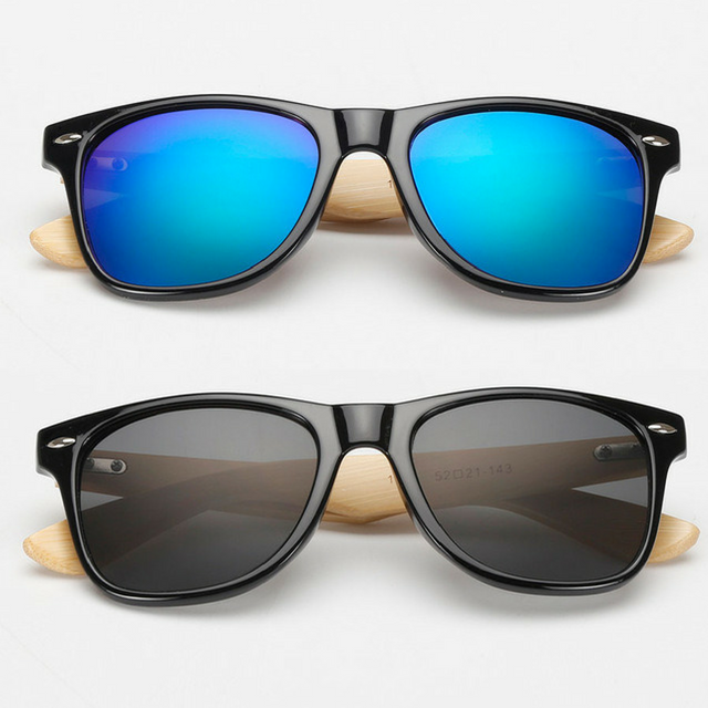 2 FOR 1 DEAL: Bamboo Wood Sunglasses