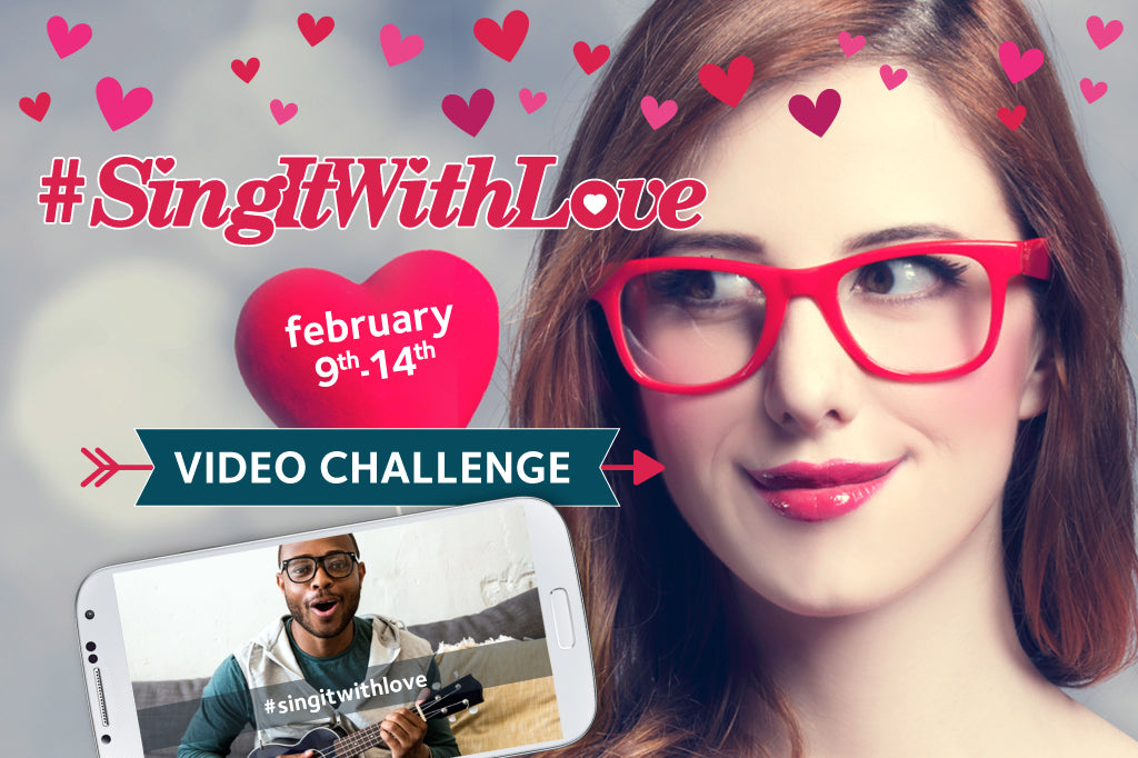 #SingItWithLove Social Media Contest