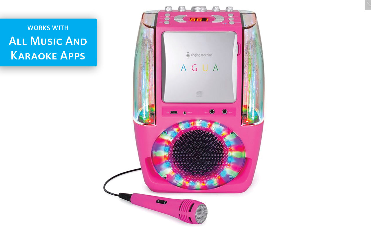 Karaoke Systems - Mobile, At Home, Bluetooth | The Singing Machine