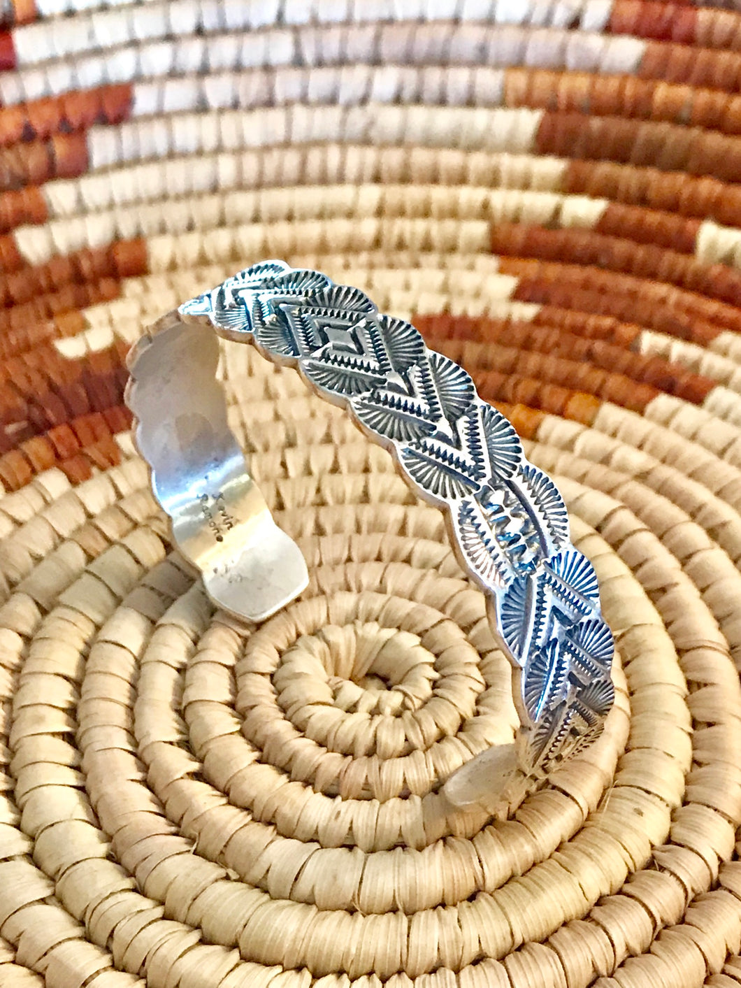 Sterling Silver Cuff Art Deco