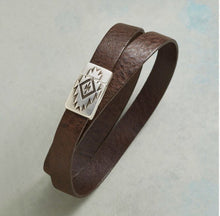 Thunderhead Wrap Leather Bracelet