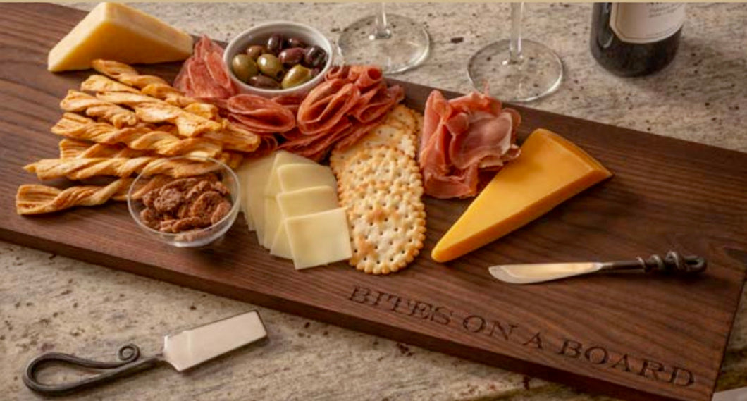 """Bites on a Board"" Charcuterie Board"