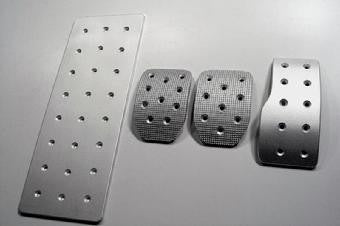 Audi A4 Billet Racing Pedals - Pedal Covers
