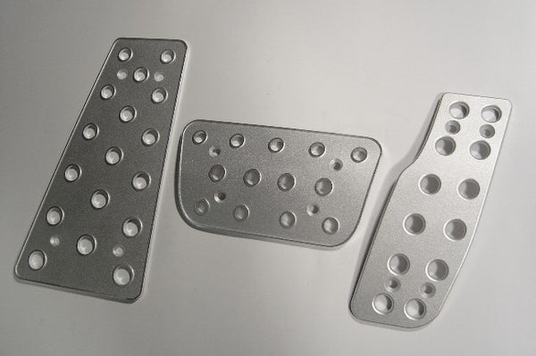 Jeep Commander Billet Pedal Set - pedal covers
