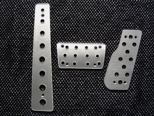 Jeep Grand Cherokee Billet Pedals - Pedal Covers