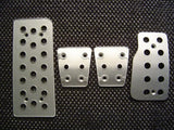 Lexus IS200 Billet Pedal Set - Pedal Covers