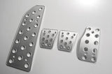 Mitsubishi EVO billet pedal set - pedal covers