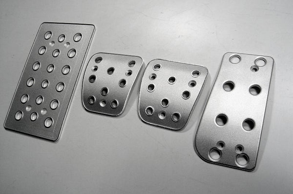 Mitsubishi eclipse billet pedal sets - pedal covers