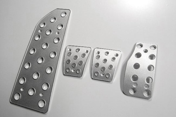 Mitsubishi xterra billet pedal set - pedal covers