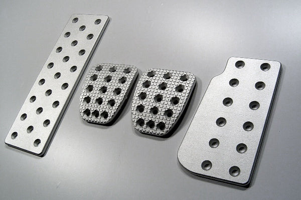subaru sti billet pedal set - pedal covers