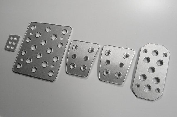 Toyota FJ Cruiser billet pedals - pedal covers