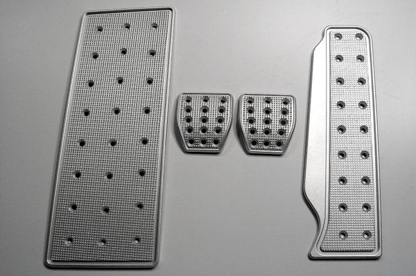 VW Rabbit Billet Pedal Sets - pedal covers