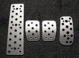 Volvo S80 billet pedals - pedal covers