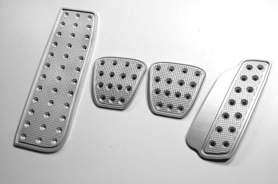 dodge challenger billet pedals - pedal covers