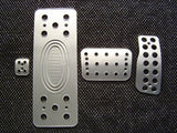 dodge Magnum billet pedals - pedal covers
