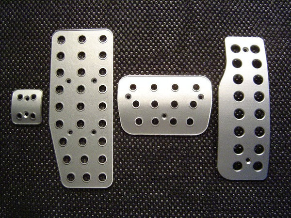 mercedes c class billet pedal sets