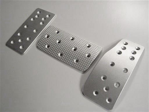 nissan 200sx billet pedal set - pedal covers