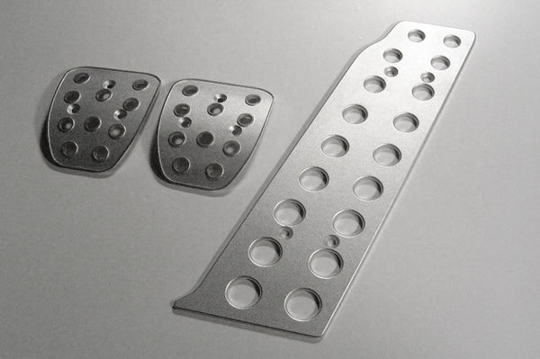 porsche 964 billet aluminum racing pedals- pedal covers